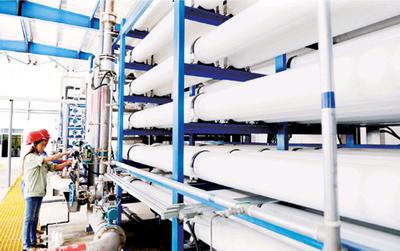 膜分离技术应用在工业废水.回用