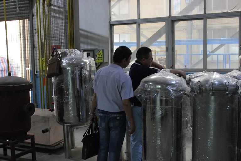沁新集团新能源公司到威特雅环境进行实地考察,为后期项目准备工作做好铺垫。